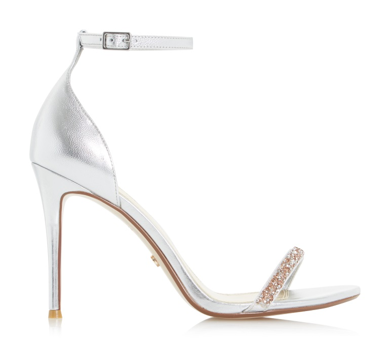 Nine Stunning Silver Prom Shoes